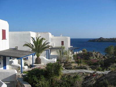 Mykonos bungalow rental - View of the domain