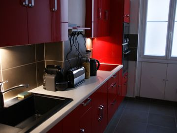 4 ROOMS apartment - Fully equipped kitchen