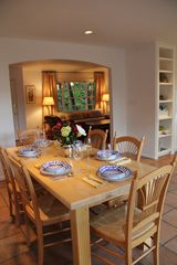 Santa Barbara house photo - Great dishes, silverware, glassware, linens--and the best gourmet grocer nearby