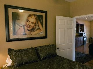 Eucha house photo - Marilyn Monroe room with a view of the living area.