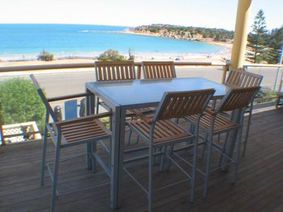 Port Elliot house rental - Beachfront Dining at Seaspell