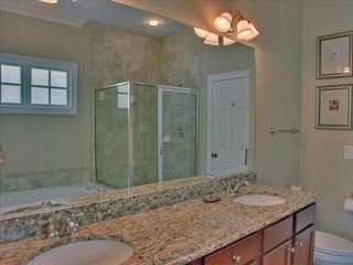 Big Canoe house photo - Master Bath - Large Jacuzzi Tub, Shower, Granite Counter Tops with Dual Vanities