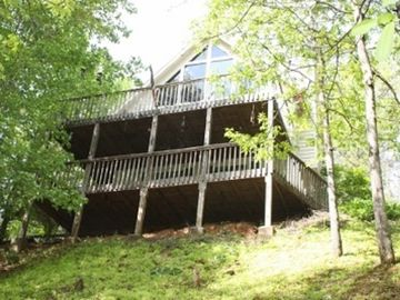 Bryson City house rental - On Golden Pond