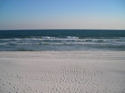 3900 feet of pristine white sand on this private beach for your enjoyment