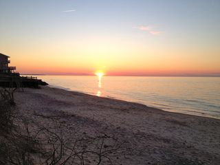 East Hampton house photo - Sunset on Long Island Sound