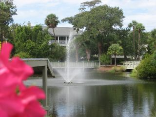 Shipyard villa photo - the fountain at the beach access