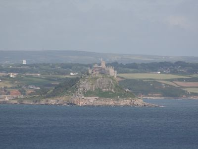 St Michaels Mount from lounge