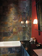 Calistoga house photo - One of guest house bathrooms- east unit