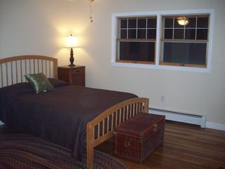 North Conway house photo - Master Bedroom - Repainted and Floors Sanded and Sealed with private 3/4 bath