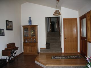 Lake Almanor house photo - Entry way--all bedrooms and baths are upstairs.