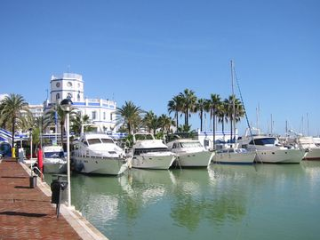 Estepona Marina - Fishing trips are available