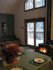 Paul Smiths chalet photo - After a day of play in the snow, soak in the warmth of the fire.