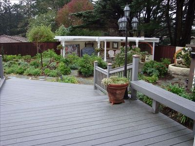 Deck & BarBQue Pergola from Granny Wing