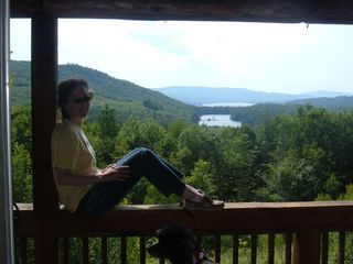 Newfound Lake cabin photo - View from porch.