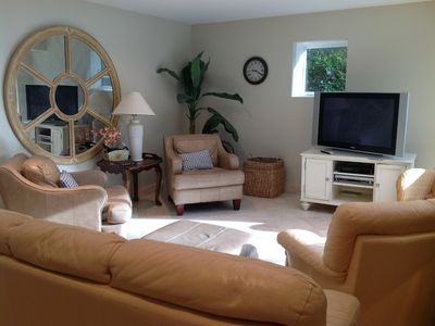 Sea Pines house rental - Pool level lounge