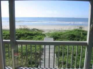 Isle of Palms house photo - The beach is at your door