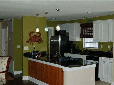 Brand new kitchen with granite countertops