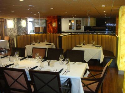 Westgate's EDGE Steakhouse; fine dining