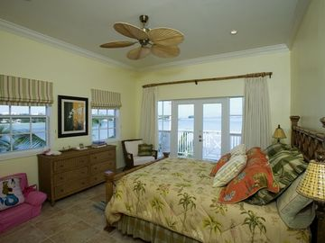 2ND MASTER BEDROOM WITH OCEAN FRONT VIEW
