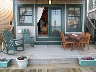 Your own waterfront deck leading onto main deck
