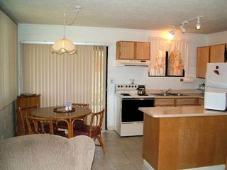 Kihei cottage photo - View of kitchen & dining room.