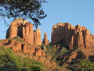 Sedona house photo - Cathedral Rock Up Close (at the end of Verde Valley School Road, VOC)