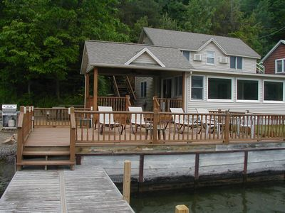 view of house from dock