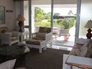 Grand Cayman condo photo - Living room is Light and Bright with Beautiful Views