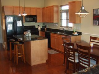 Carolina Beach townhome photo - Kitchen view