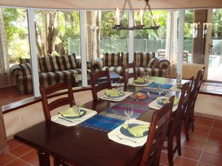 Fort Lauderdale house photo - Dining Area with up to 12 Seatings