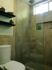 Old Town Scottsdale condo photo - Walk-in shower with rain shower head.