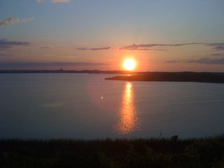 Truro cottage photo - Sunset over the water
