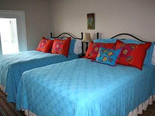 New Braunfels condo photo - Fiesta Master Bedroom with Two Queen Beds