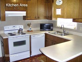 Huddleston property rental photo - Kitchen