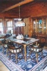 Grand Lake Stream cabin photo - dining area in great room