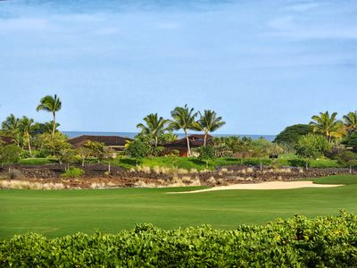 Ka`ulu Neighborhood: Ocean and Golf Course Views~4th Fairway of Hualalai Course