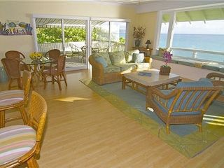Lanikai house photo - Spectacular ocean view from living area