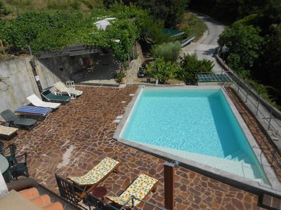 Corner of paradise and pool surrounded by greenery and quiete  6 km far the beach - FREE WIFI