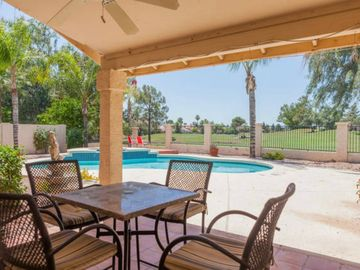 Chandler house rental - Golf course and lake views from the resort style backyard