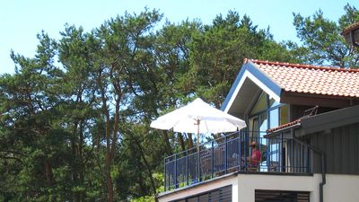 Dream location in Nida with panoramic views of fishermen's houses and Curonian Lagoon
