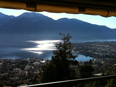 Wonderful view of Lake Maggiore