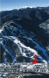 Location of Condo in relation to Ski runs