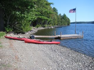 East Grand Lake cabin photo - beach