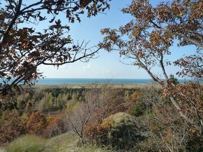 Saugatuck / Douglas apartment rental - View from Mt. Baldy in Fall