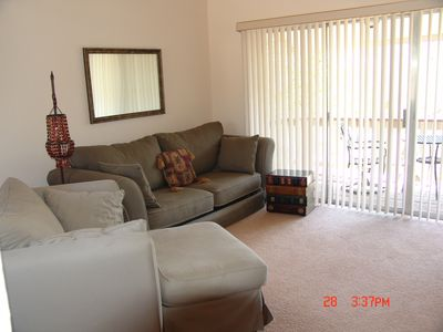 Canyon Lake condo rental - Living Room