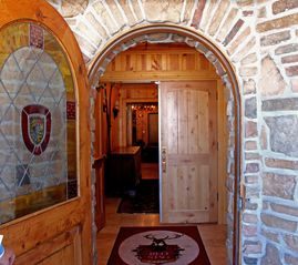 Deer Valley condo photo - The front door to the Red Stag Lodge.