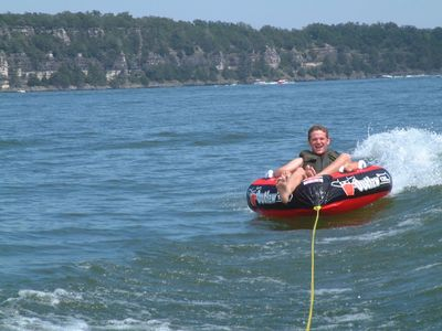 Go tubing! Photo courtesy Branson Chamber of Commerce.