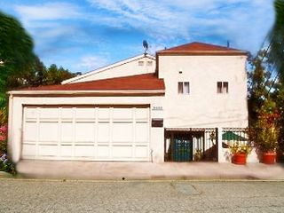 Los Angeles house photo - Front view of home and garage