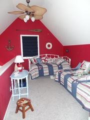 South Haven house photo - Loft with two day beds - great for kids!