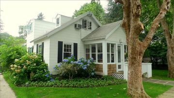 Bridgehampton cottage rental - village cottage..steps from the center of town, yet quite and secluded